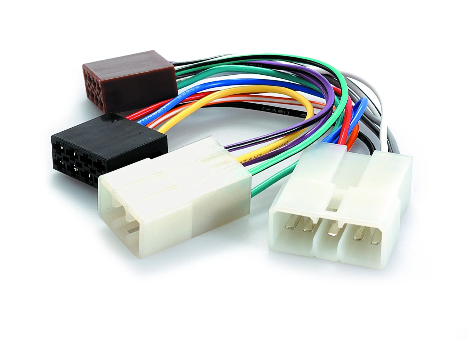 hight resolution of home products wiring harness adapter for daihatsu to iso plug app040