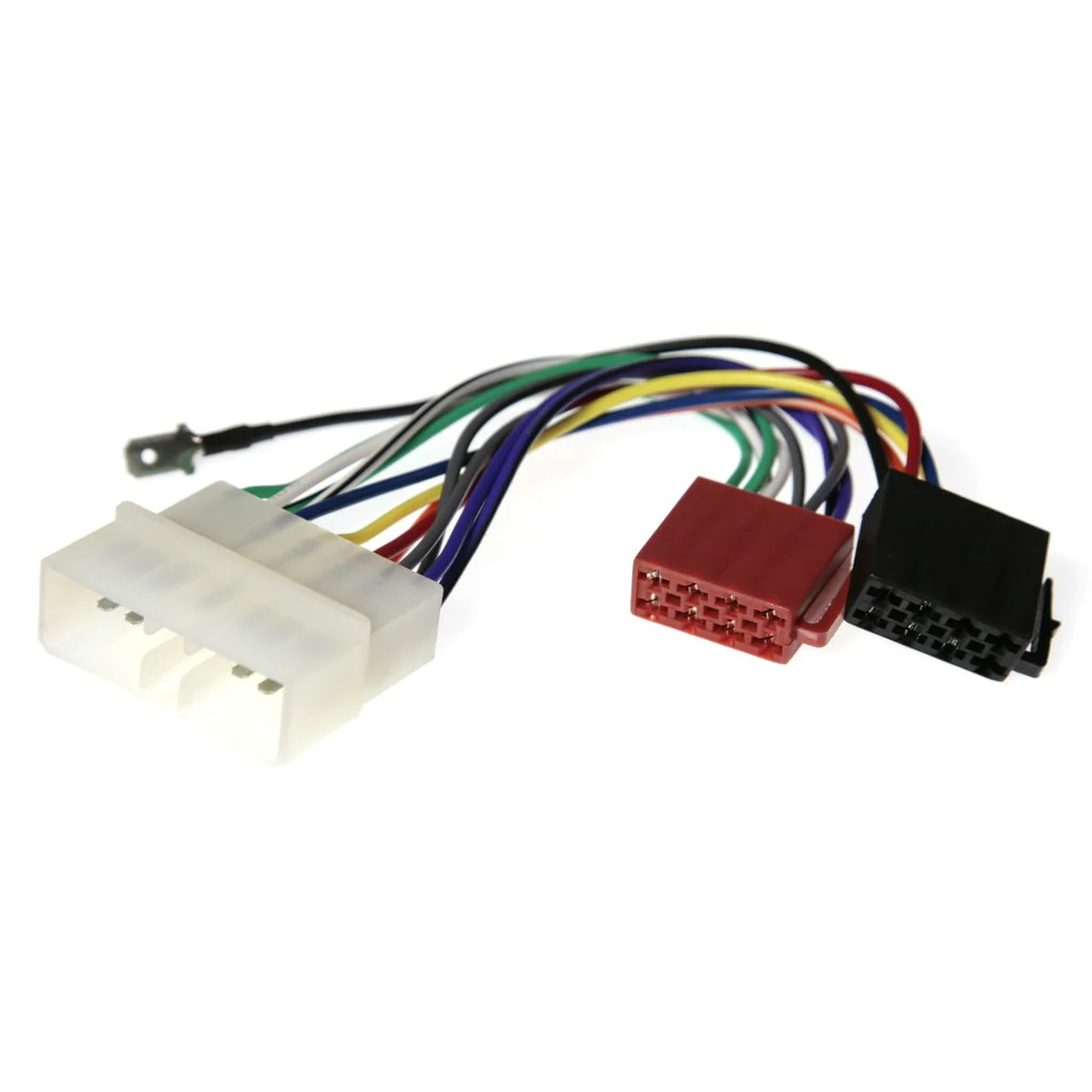 medium resolution of wiring harness adapter for chrysler jeep to iso plug app020 south east car audio