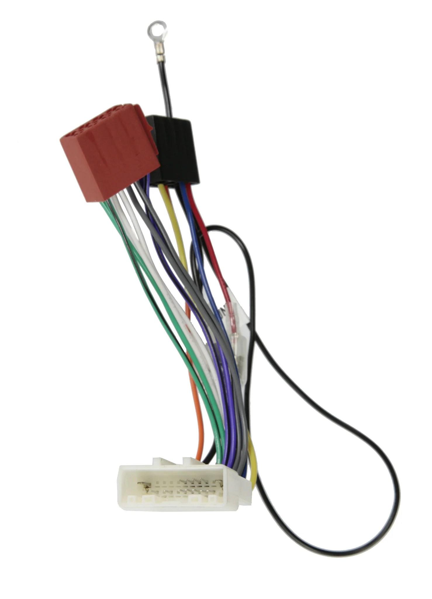 medium resolution of wiring harness adapter for subaru nissan to iso plug app091