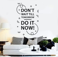Vinyl Wall Decal Motivation Quote Inspire Room Stickers