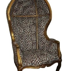 French Canopy Chair Club Recliner Style Accent Jack Horner Interiors