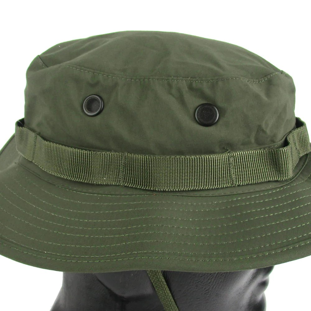Olive Drab Waterproof Boonie Hat Army And Outdoors