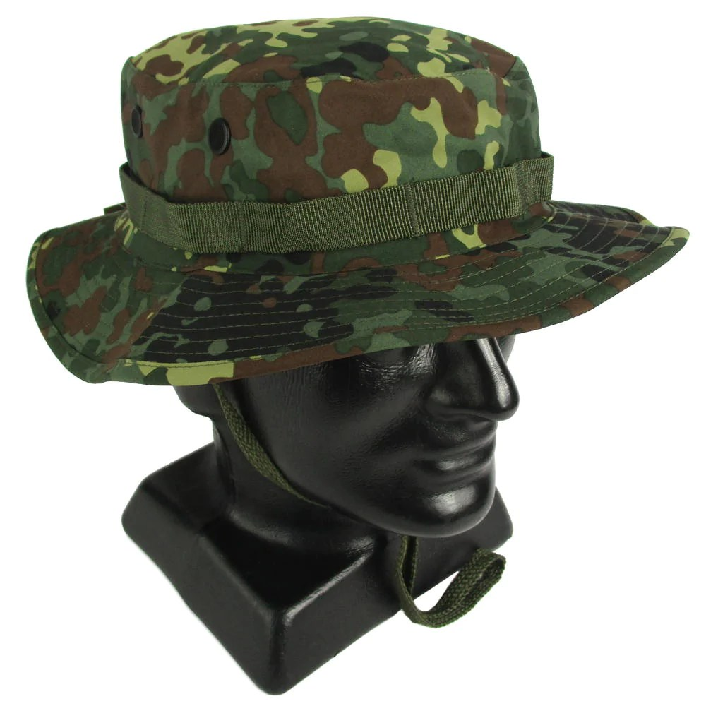 Flecktarn Waterproof Boonie Hat Army And Outdoors