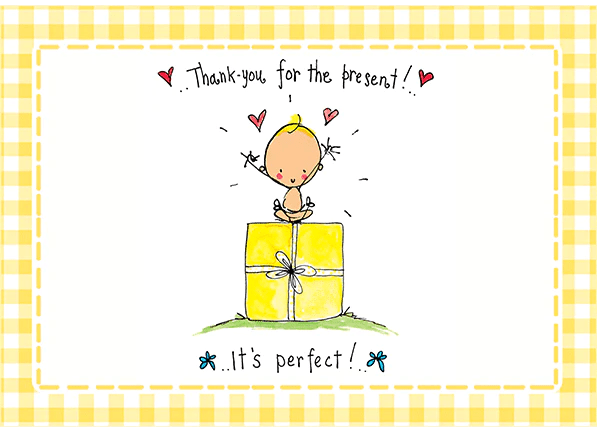 Thank You For The Present! It's Perfect! – Juicy Lucy Designs