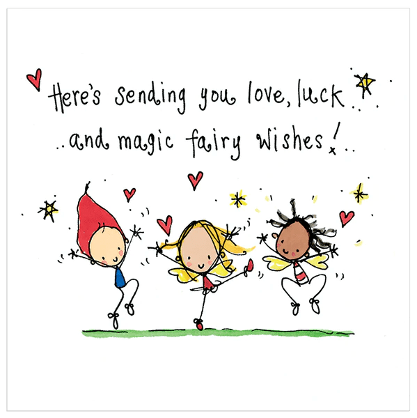 Heres Sending You Love Luck And Magic Fairy Wishes