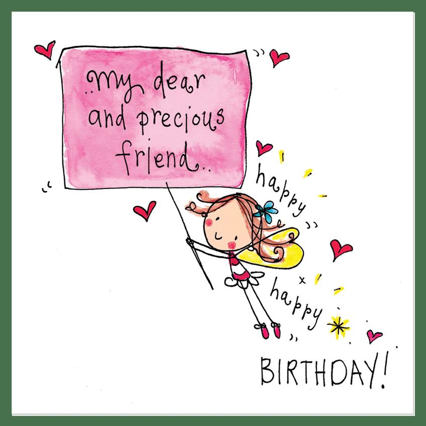My Dear And Precious Friend Happy Happy Birthday