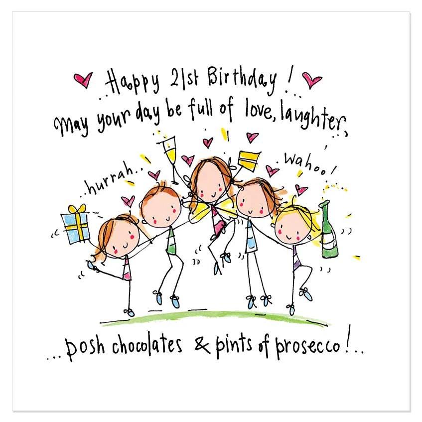 happy 21st birthday may