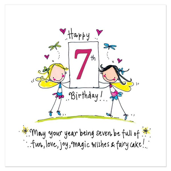 Happy 7th Birthday May Your Year Being Seven Be Full Of