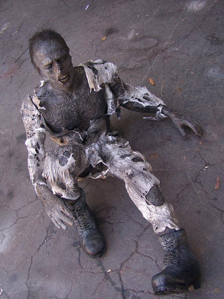 Poseable Kemmler Burn Body with Jumpsuit Prop  Dapper