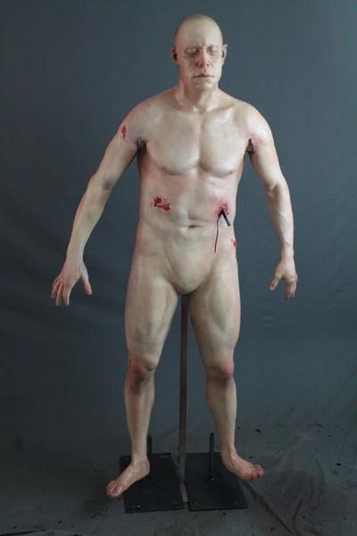Rebar Impaled Ben Body Prop  Dapper Cadaver Props
