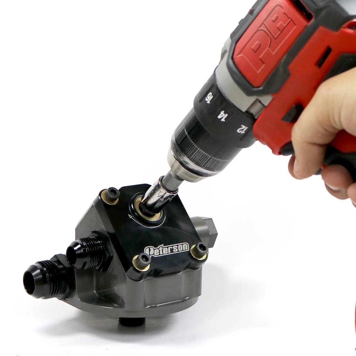 peterson primer remote filter mount drill  [ 1200 x 1200 Pixel ]