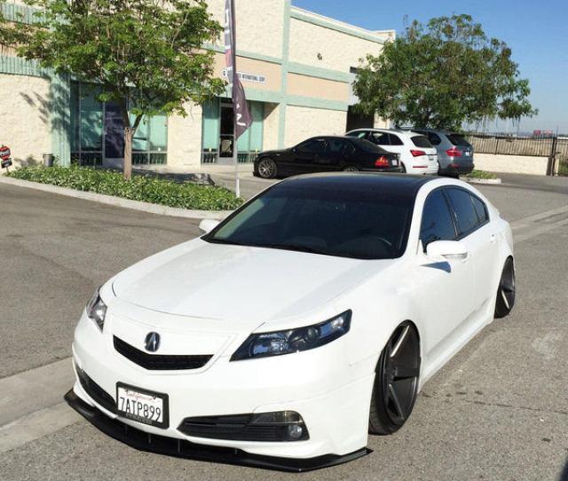 2012 2014 Acura Tl Front Splitter V1 A Spec