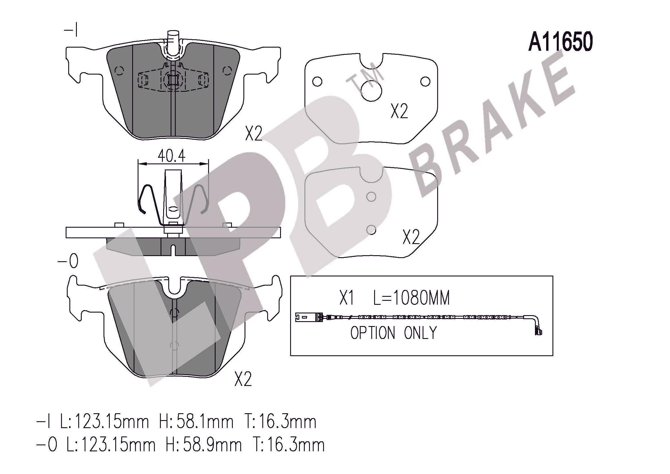 bmw 3 series e90 peugeot 307 brake pads rear  [ 2337 x 1653 Pixel ]