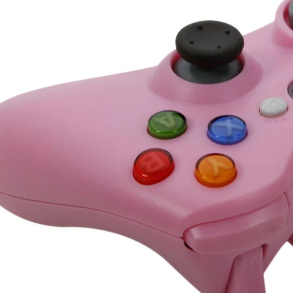 New Wireless Cordless Shock Game Joypad Controller For XBox 360 Pink Althemax