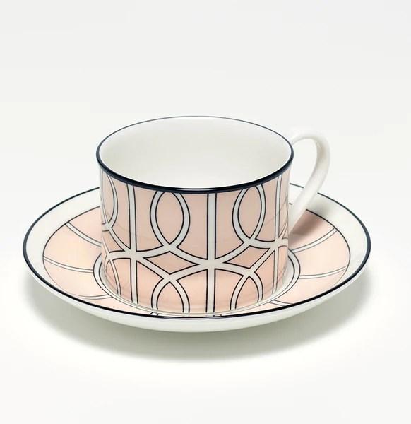 teacups saucers o w