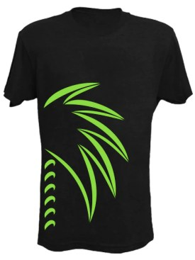 Gone Beachin palm tree t-shirt