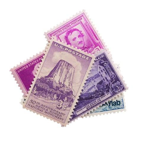 vintage postage stamps frankie