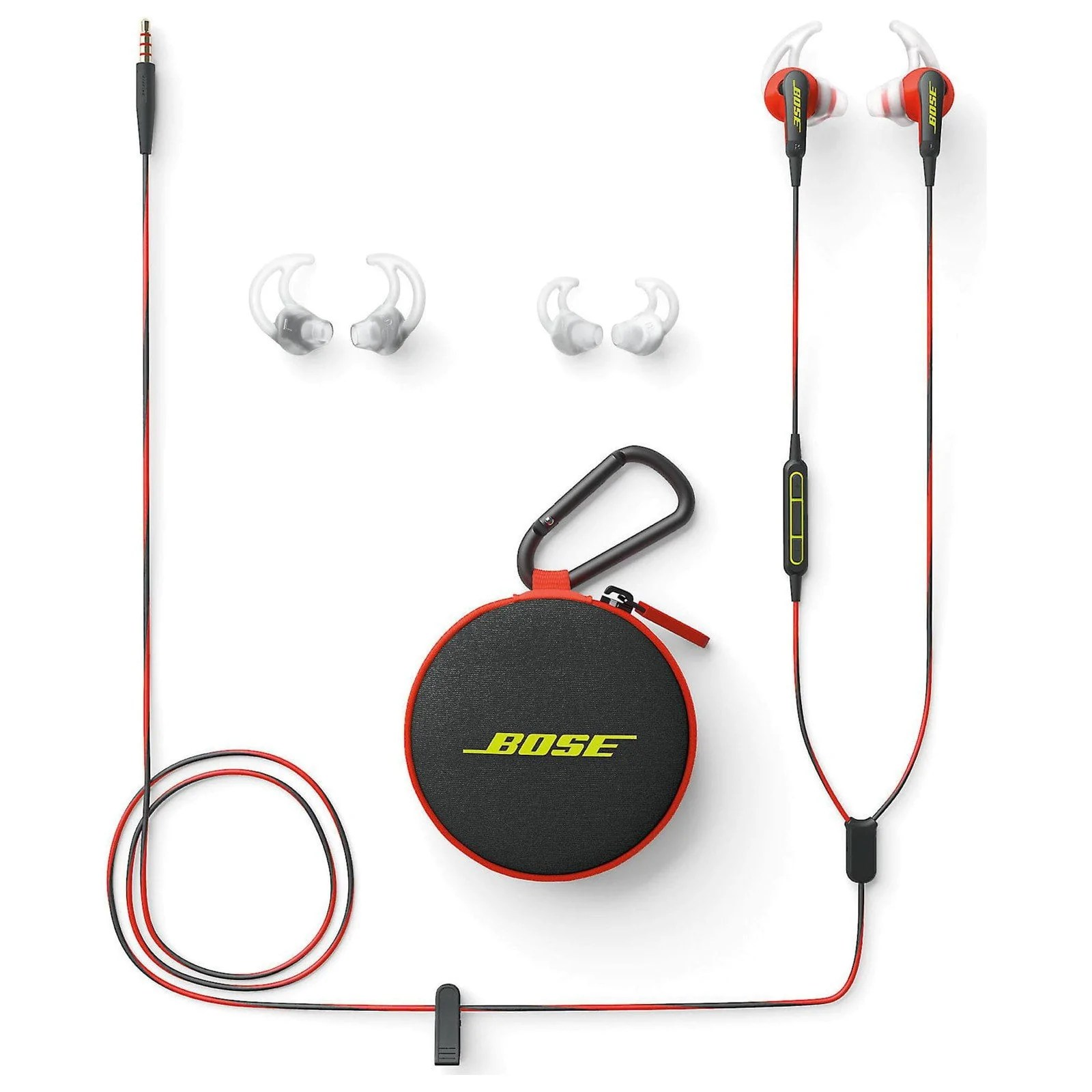 bose soundsport in ear headphones w apple microphone  [ 1600 x 1600 Pixel ]