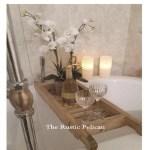 Modern Farmhouse Farmhouse Home Decor Fixer Upper Rustic Home Decor Tagged Wood Tub Tray The Rustic Pelican