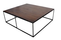 Industrial Modern Coffee Table  Mortise & Tenon