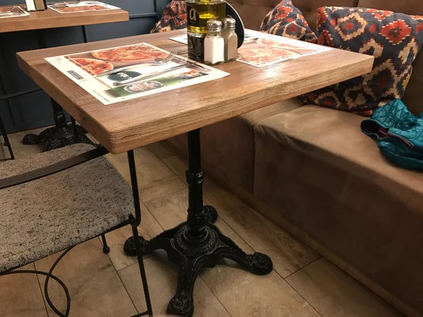 Cast Iron French Bistro Tables Mortise Amp Tenon