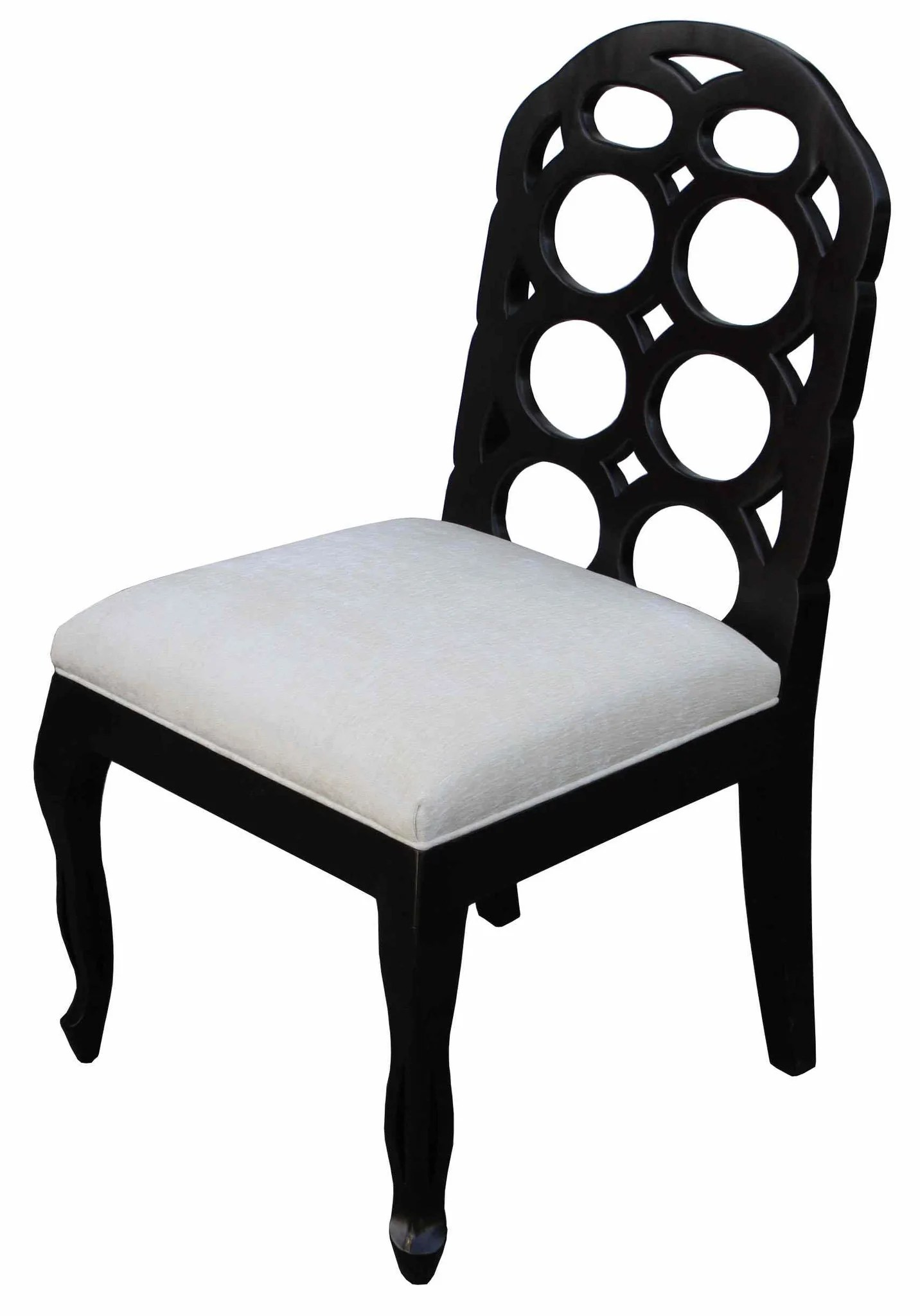 Black White Chair Dining Chairs Mortise And Tenon