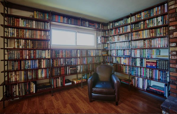 Custom Wall To Wall Bookcases Mortise Amp Tenon