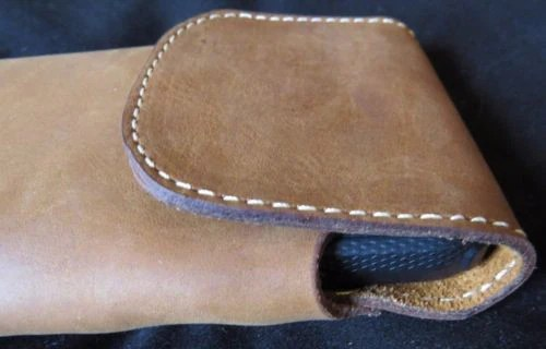HANDMADE LEATHER PHONE CASE  WALLET Amish Made Belt