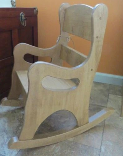 CHILDRENS ROCKING CHAIR Amish Handmade Solid Oak