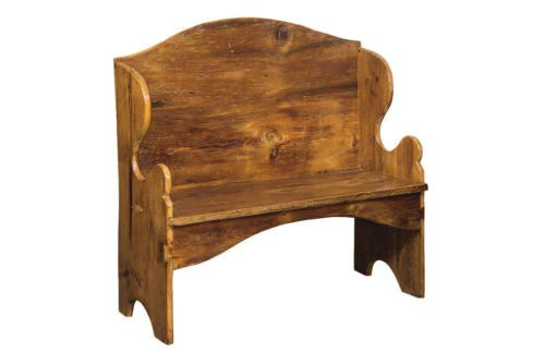 Deacon Bench Pennsylvania Dutch Antique Reclaimed Barn