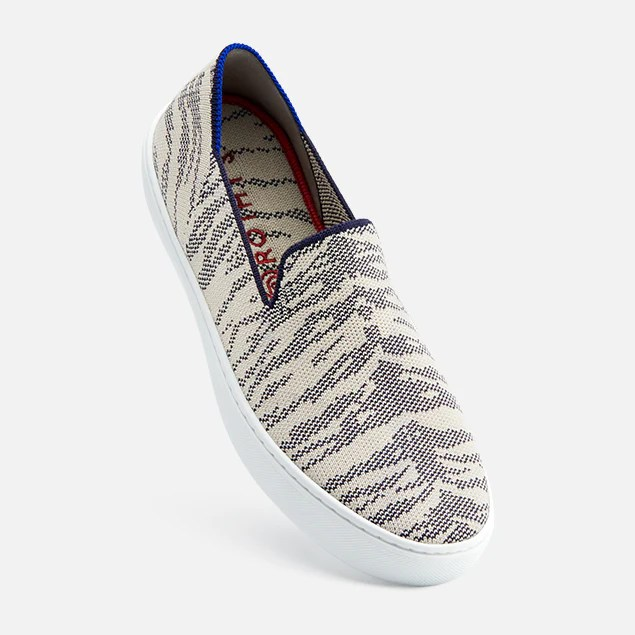 Gray Slip On Shoes Womens