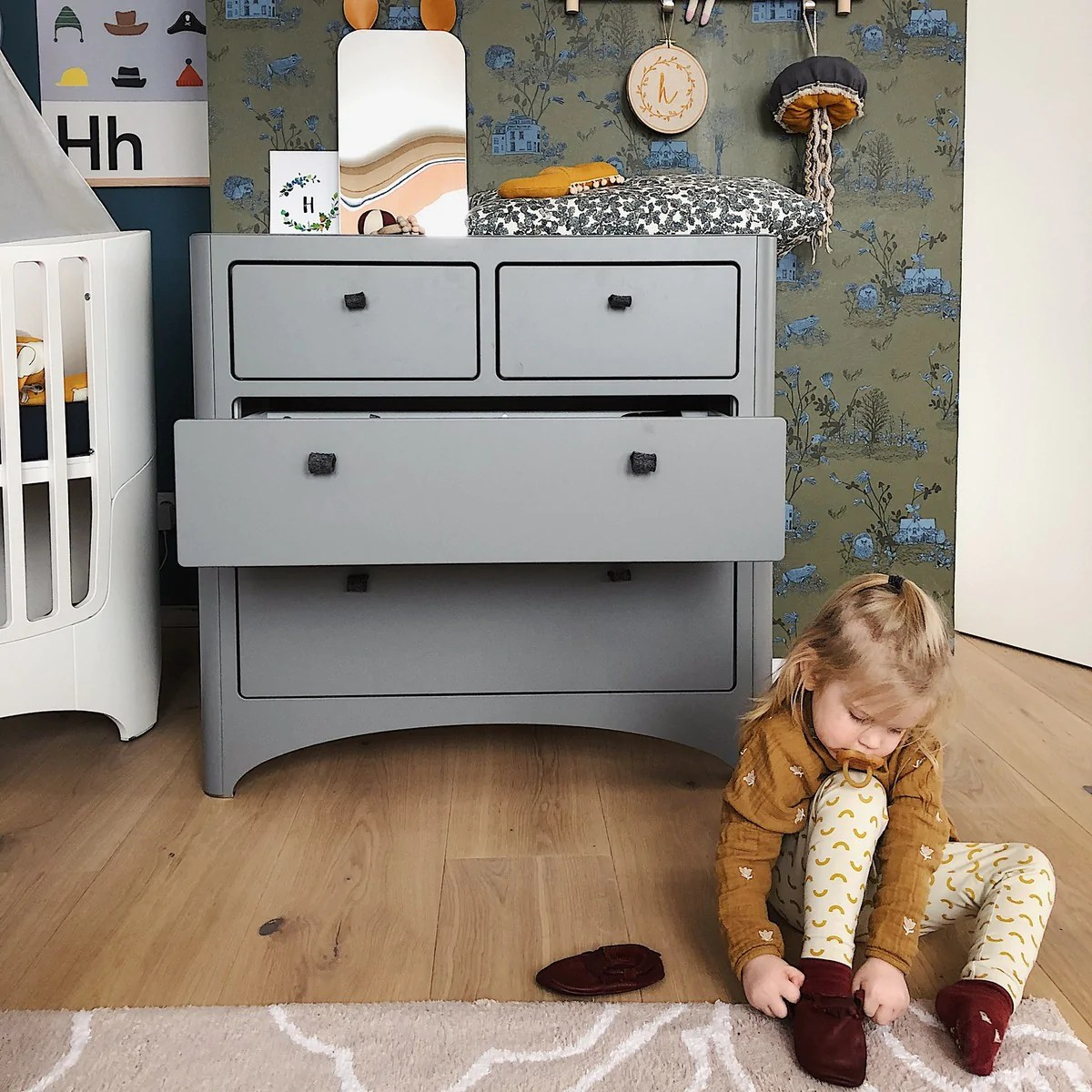Kinderkommode Kommode Sideboard Kinderzimmer Holz Lavie Mobel Baby