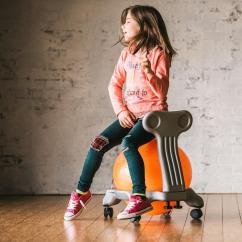 Balance Chair For Kids White Garden Chairs 19420 Classic Ball Orange Grey Factory Select