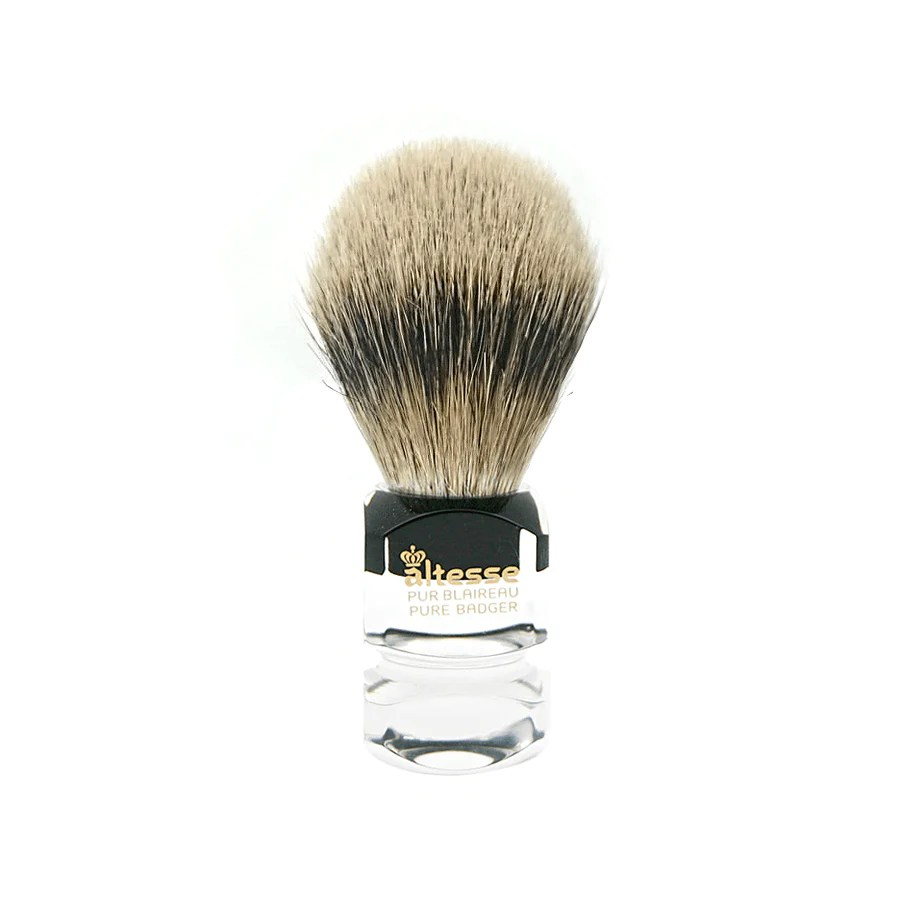altesse pure white badger hair