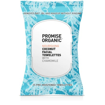 Nourishing Coconut Facial Towelettes with Chamomile