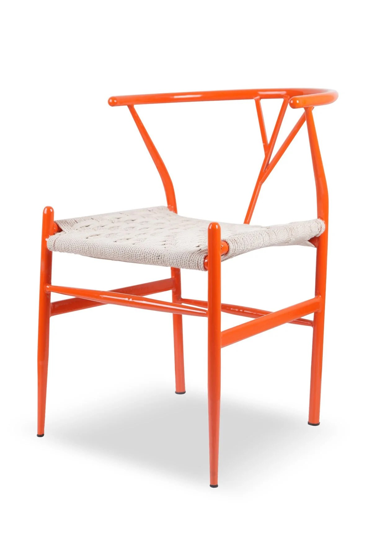 Metal Chairs Tree Chair Orange