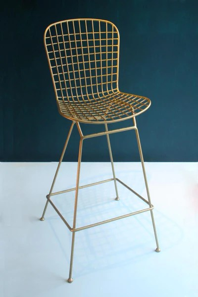 chair design buy king george for sale upholstered retro rocker matt gold bar stool 20 x 41 in coated iron chairs and benches