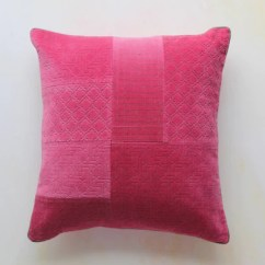 Velvet Sofa Fabric Online India Ashmore Leather Bed Black Buy Decorative Modern Accent Cushions Freedom Tree Solid Rose Pink Crafted Cushion 18 X In Cotton