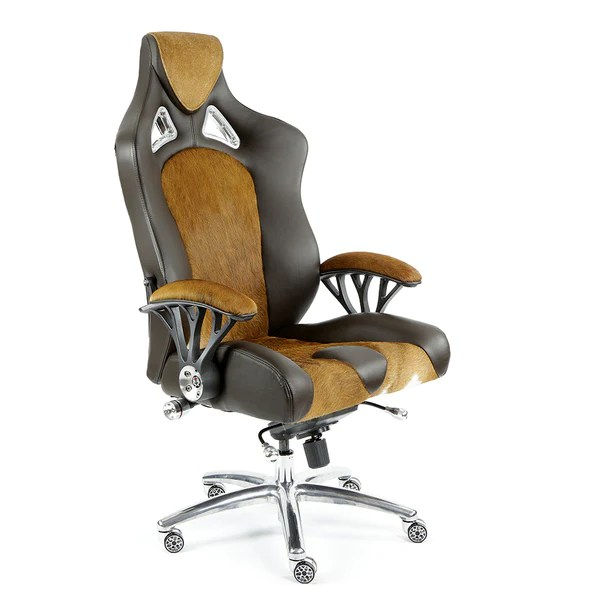 brown computer chair amazon covers and bows promech racing speed 998 office cowhide