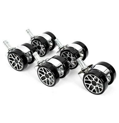 office chair castors accent tub promech racing spare wheels for low profile alloy wheel 5 design