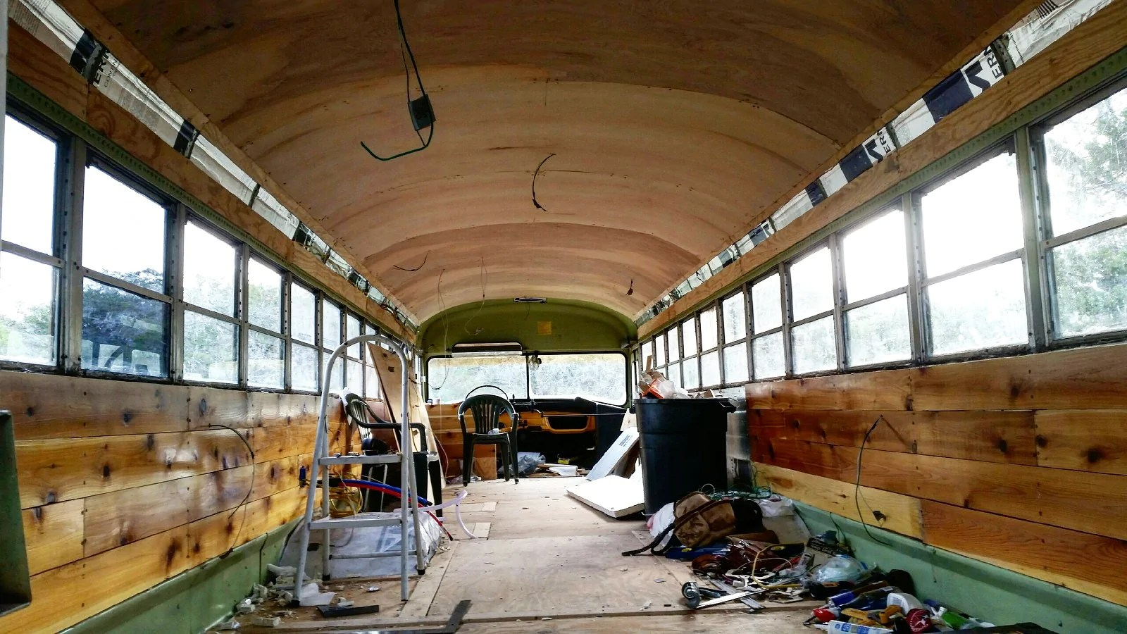School Buses Conversion - Year of Clean Water