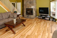 Natural Maple Hardwood Flooring  kcbins
