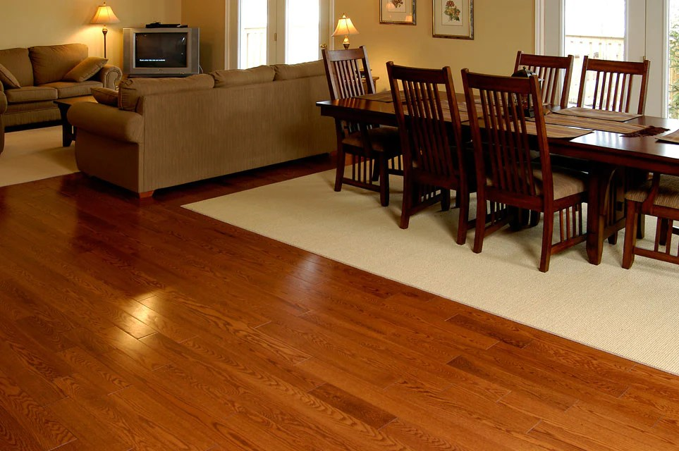 Red Oak Gunstock Hardwood Flooring  Gaylord Flooring