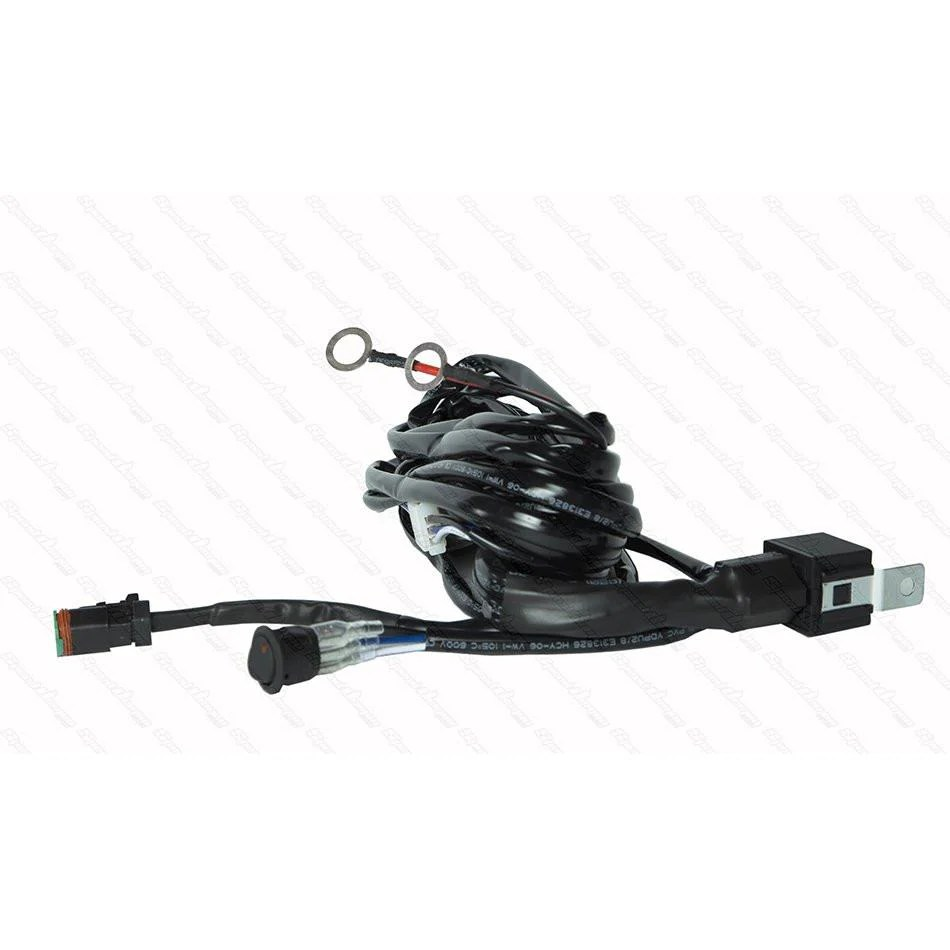 small resolution of 1 light universal wiring harness switch kit h1 pj trailers canada inc