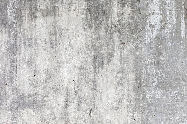 Grunge White Concrete Wall Backdrop   Cement Photography Backdrop