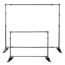 adjustable backdrop stand 10ft x 8ft