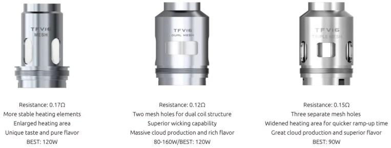 TFV16 SMOK Coils