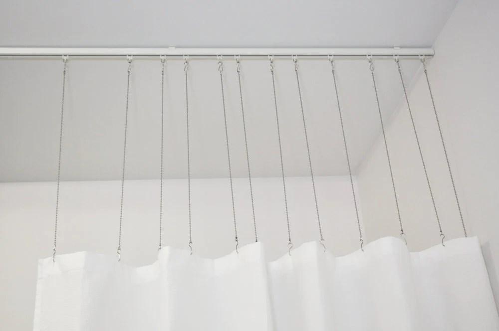 curtain rod connection