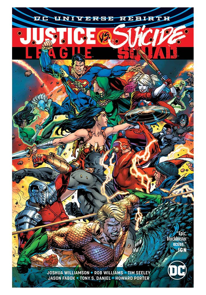 Justice League Vs Suicide Squad : justice, league, suicide, squad, COMICS-Justice, League, Suicide, Squad, (Rebirth), Hardcover, Graphic, Novel, Newbury, Comics
