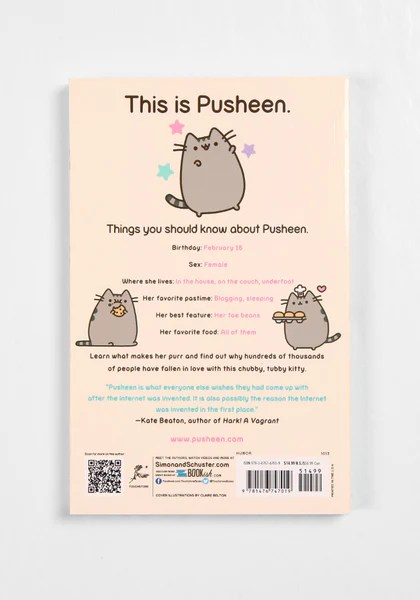 I Am Pusheen The Cat By Claire Belton Newbury Comics